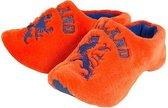 Clogs pantoffels oranje 44-45