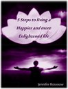 Omslag 5 Steps to living a Happier and more Enlightened life