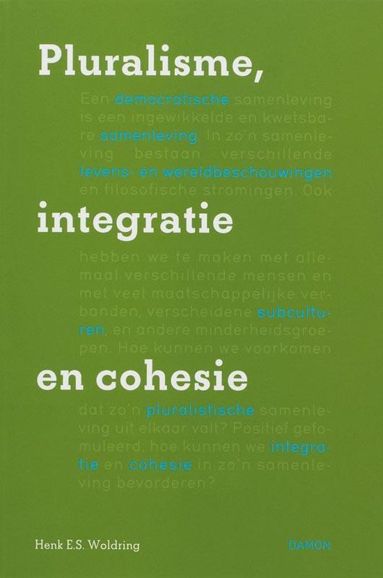 Pluralisme, integratie en cohesie