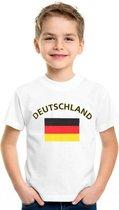 Kinder t-shirt vlag Deutschland Xl (158-164)