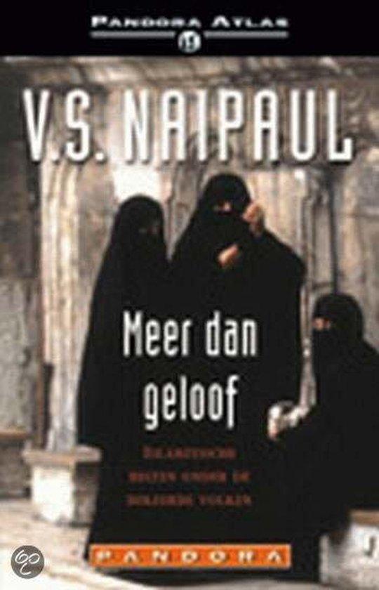 MEER DAN GELOOF - V.S. Naipaul  
