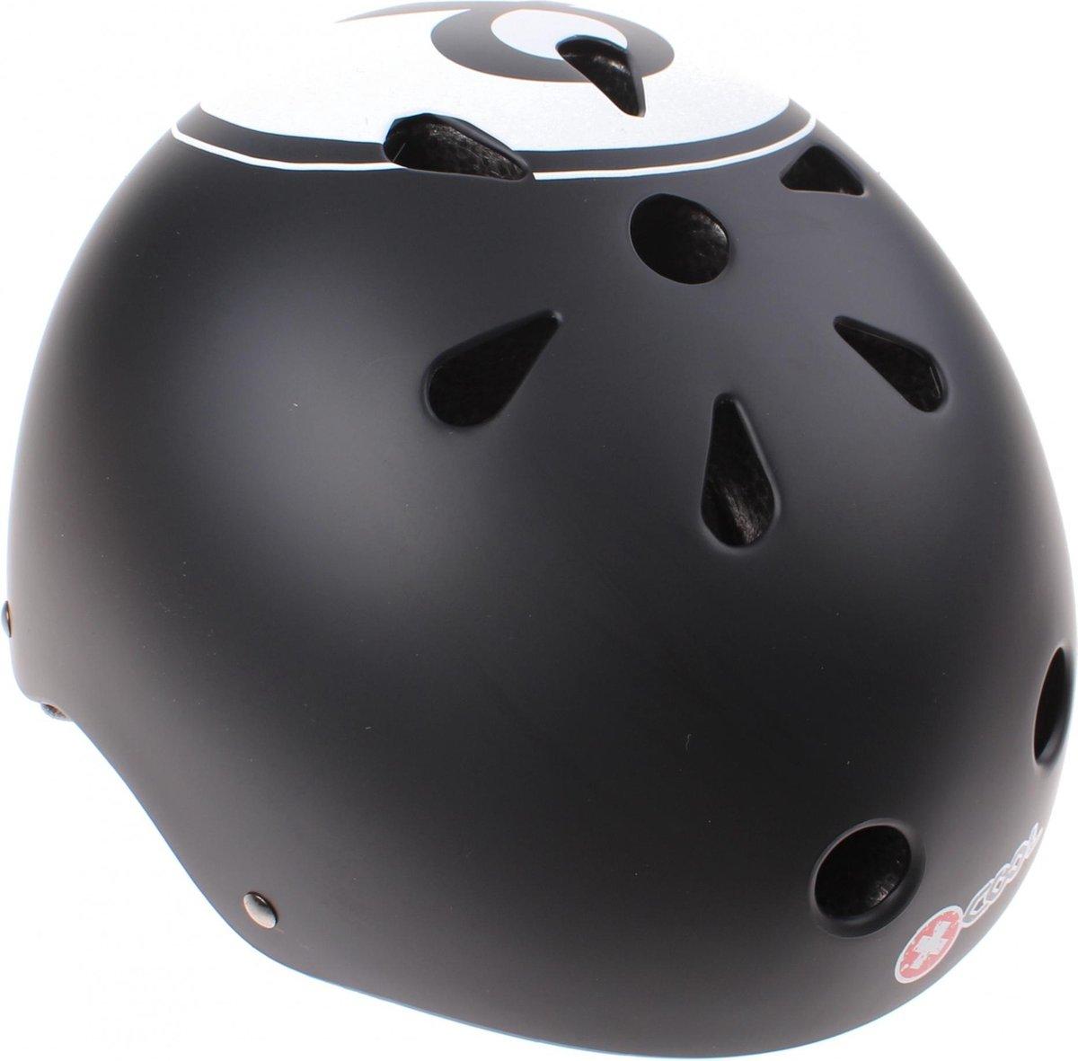 Cycle Tech Fietshelm Xcool 8-ball Zwart Maat 48/54 Cm
