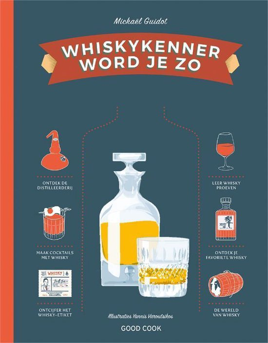 Whiskykenner word je zo - Mickael Guidot  