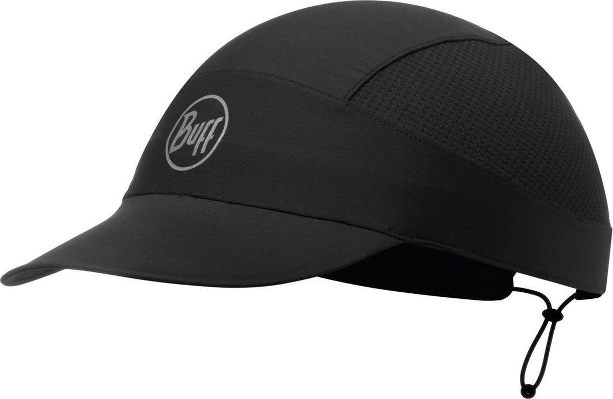 BUFF  Pack Run Cap R-Solid Black - Pet - Zonbescherming - one size