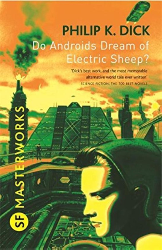 Boek cover Do Androids Dream of Electric Sheep? van Philip K. Dick (Paperback)