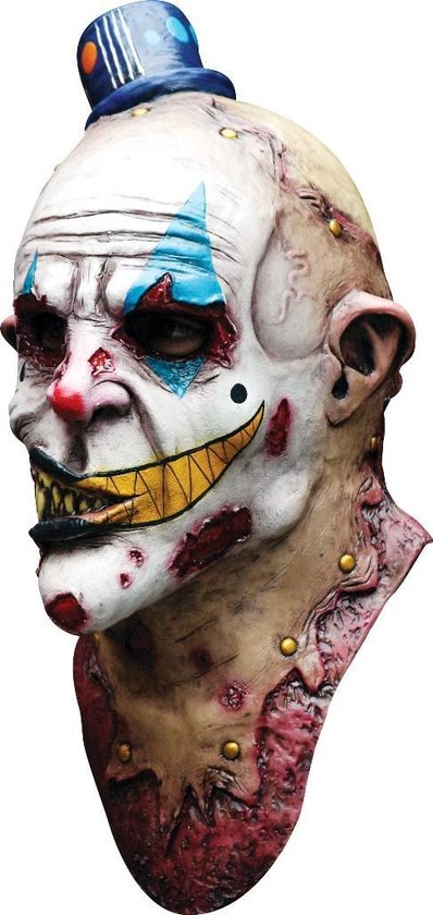 Monsterachtig clownsmasker voor volwassenen Halloween - Verkleedmasker