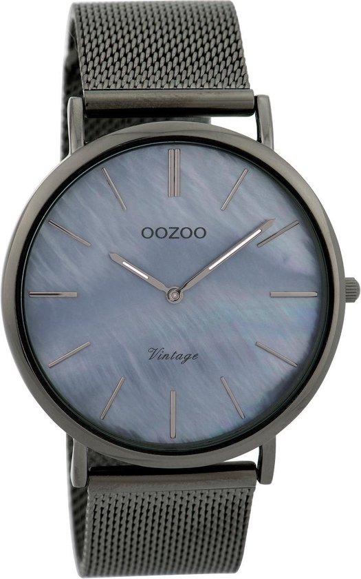 OOZOO Vintage Titanium horloge C9368 (40 mm) - OOZOO