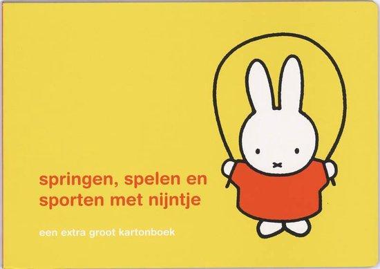 Cover van het boek 'Springen, spelen en sporten met Nijntje'