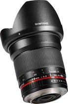 Samyang 16mm F2.0 ED AS UMC CS - Prime lens - geschikt voor Fujifilm X