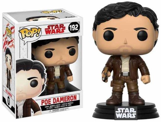 Funko Pop! Star Wars Poe Dameron - #192 Verzamelfiguur - Funko