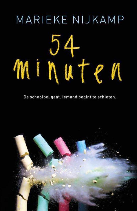 Boek cover 54 minuten van Marieke Nijkamp (Paperback)