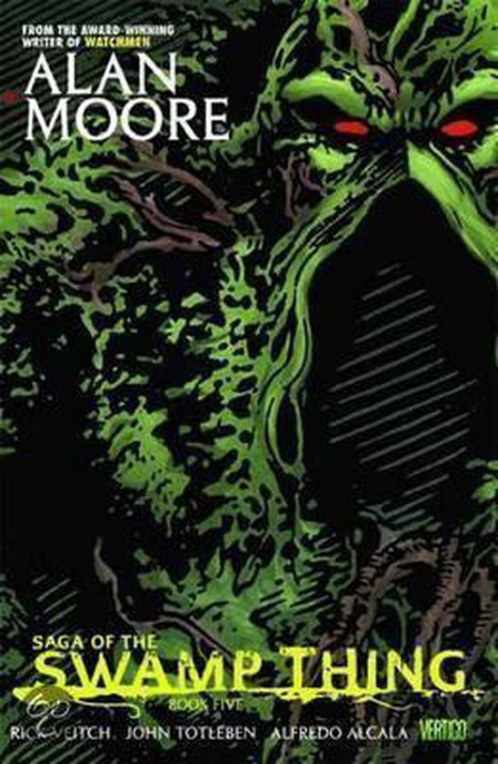 Boek cover Saga of the Swamp Thing van A. Moore (Hardcover)