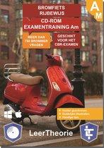 Bromfiets Rijbewijs Am - CD-ROM Bromfiets Examentraining Am - 750 oefenvragen - 15 Theorie Examens - Ontworpen voor het CBR theorie-examen 2020
