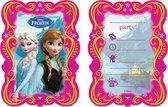 PROCOS - Set van Frozen uitnodigingen - Decoratie > Kaarten