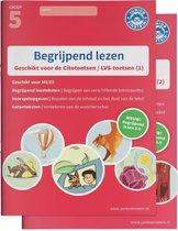 Begrijpend lezen Compleet delen 1 en 2 Groep 5 deel 1/2 Oefenboeken