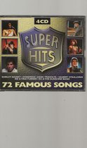 SUPER HITS 72 FAMOUS SONGS 4-Dubbel CD