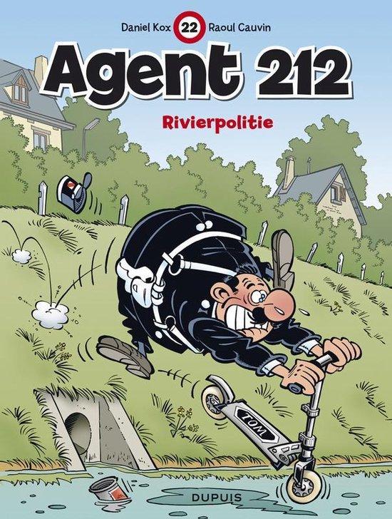 Cover van het boek 'Agent 212 / 22. Rivierpolitie (Nieuwe Cover)' van R. Cauvin