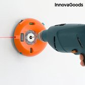 InnovaGoods Boorstofverzamelaar met Laserniveaus en -Markering
