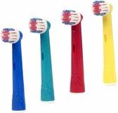 4 Opzetborstels voor kinderen voor Oral-B ®