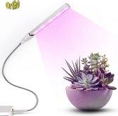 Ortho LED groeilamp met USB aansluiting. Flexibele arm. Bloeilamp, Kweeklamp, Grow light, groei lamp, Bloeilamp, Kweeklamp