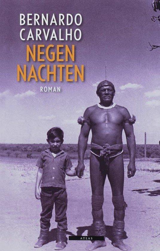 Cover van het boek 'Negen nachten'