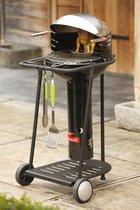 Barbecook Major Black Go Houtskoolbarbecue - Verrijdbaar - Zwart