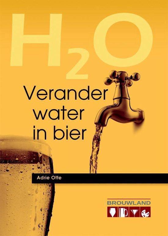 Boek cover H2O Verander water in bier van Adrie Otte (Paperback)