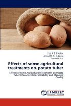 Effects of Some Agricultural Treatments on Potato Tuber
