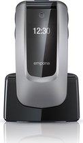 Emporia Comfort Senioren Mobiele Telefoon - Grijs