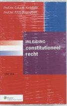 Boek cover Inleiding constitutioneel recht van C.A.J.M. Kortmann (Paperback)