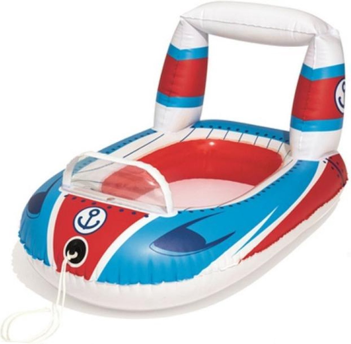 Zwembad speelgoed - Opblaas bootje - Kinderen - Speedboot