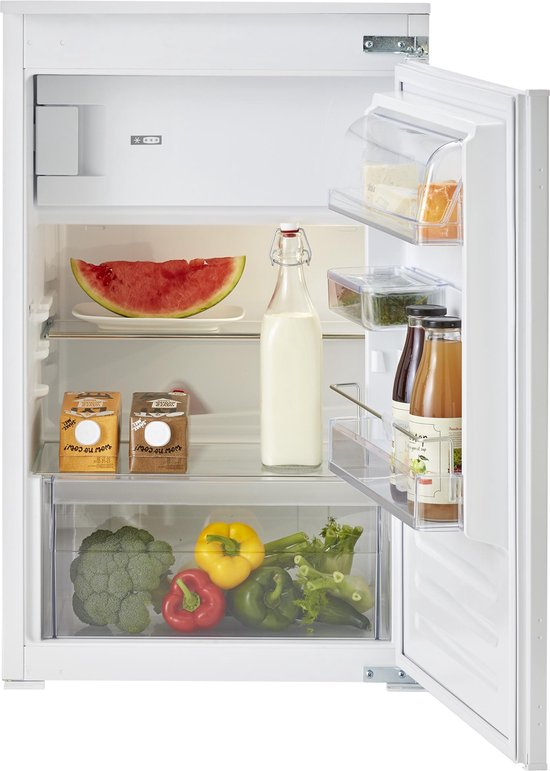 Koelkast: ATAG KS32088B - Inbouw koelkast met vriesvak, van het merk ATAG