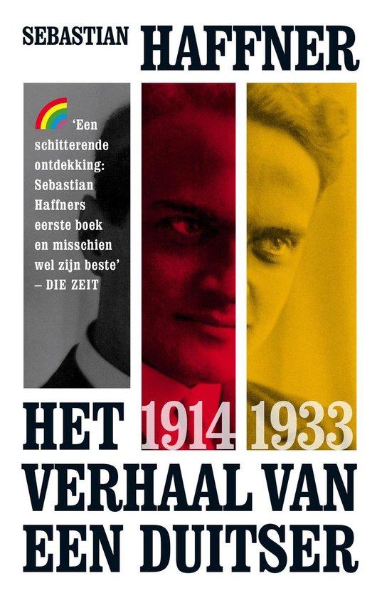 Boek cover Rainbow paperback  -   Het verhaal van een Duitser 1914-1933 van Sebastian Haffner (Paperback)