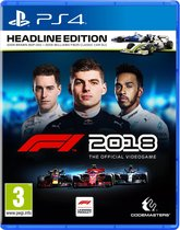 F1 2018 Headline Edition - PS4