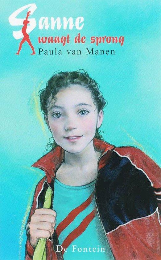 Boek cover Sanne Waagt De Sprong van Paula van Manen (Onbekend)