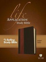 HCSB Life Application Study Bible Tutone Brown/Tan
