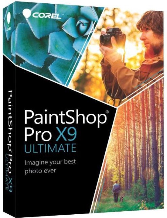 Corel PaintShop Pro X9 - 19 - Ultimate - Nederlands / Engels / Frans - Windows