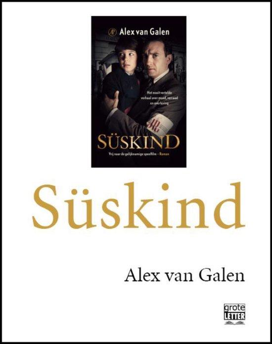 Süskind - grote letter - Alex van Galen |