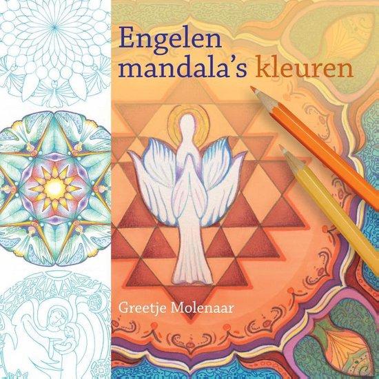 Engelenmandala's kleuren - Greetje Molenaar  