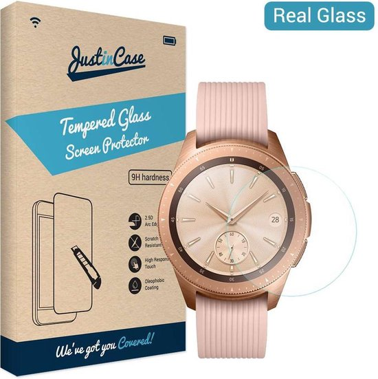 Just in Case Tempered Glass Samsung Galaxy Watch 42mm Protector - Arc Edges