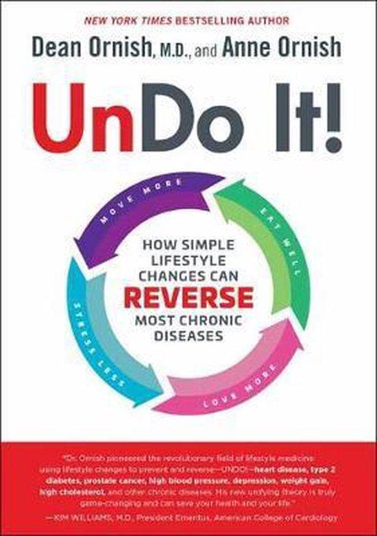 Boek cover Undo It! van Dean Ornish, MD (Hardcover)