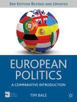 Boek cover European Politics van Tim Bale