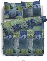 HNL Pure Cotton Nisa Dekbedovertrek - Eenpersoons - 135x200 + 80x80 cm - Multi