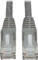 Tripp Lite N201-020-GY netwerkkabel 6,1 m Cat6 U/UTP (UTP) Grijs