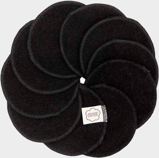 ImseVimse Wasbare Wattenschijfjes 20 Stuks - Zwart