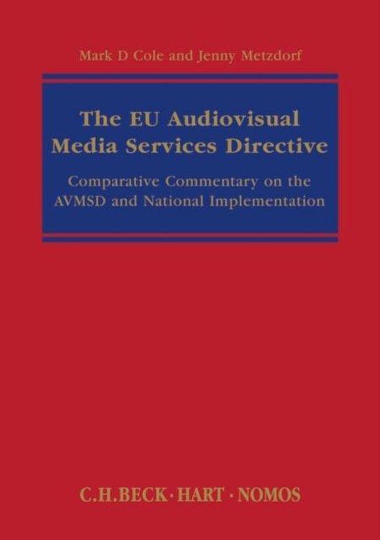 Afbeelding van The EU Audiovisual Media Services Directive