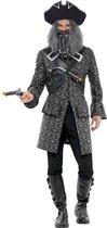 Piraat & Viking Kostuum | Chique Piraat Zondagskostuum | Man | Large | Carnaval kostuum | Verkleedkleding - Zwart