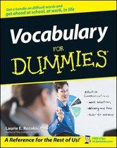Vocabulary For Dummies