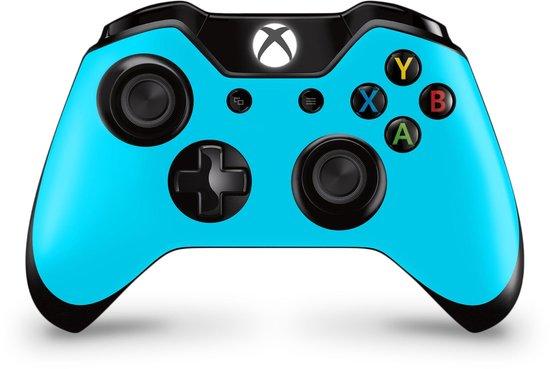 Xbox One Controller Skin Lichtblauw Sticker