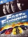 Fast & Furious 1-4 Boxset (D) [bd]